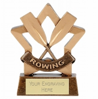 Mini Star Rowing Award Trophy AGGT 3.25 Inch