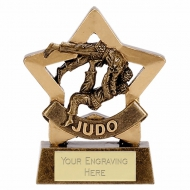 Mini Star Judo Trophy Award AGGT 3.25 Inch