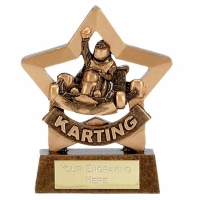Mini Star Karting Award Trophy AGGT 3.25 Inch