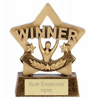 Mini Star Winner Award Trophy AGGT 3.25 Inch