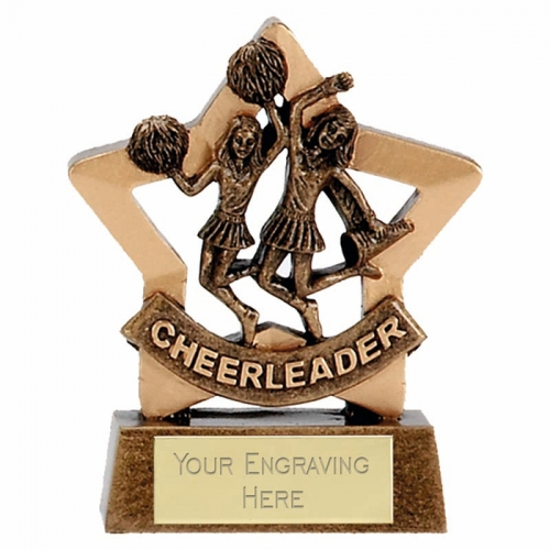 Mini Star Cheerleader AGGT 3.25 Inch