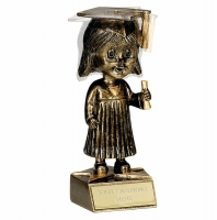 Bobblehead Female Graduation AGGT 6 Inch