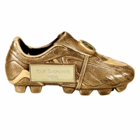 Premier7 Gold Boot AGGT 7 Inch Football Trophy