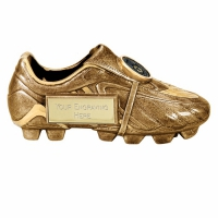 Premier5 Gold Boot AGGT 5 Inch Football Trophy
