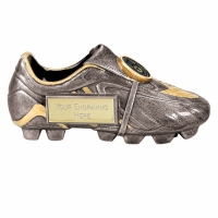 Premier5 Silver Boot ASGT 5 Inch Football Trophy