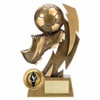 Gold Flash4 Football Boot Trophy AGGT 4 7/8 Inch