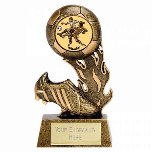Cheap Football Trophy Scorcher3 AGGT 3.75 Inch