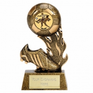 Football Trophy Scorcher4 AGGT 4.75 Inch