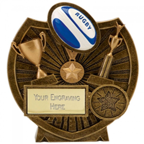 Century Shield Rugby AGGT 4.5 Inch