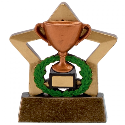 Mini Star Cup Bronze AGGT 3.25 Inch