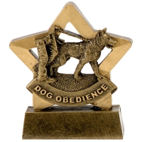 MinI Star Dog Obedience AGGT 3.25 Inch