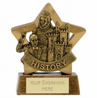 Mini Star History Award Trophy AGGT 3.25 Inch