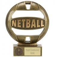 THE BALL Netball Trophy Award