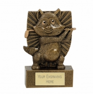RONNIE RACOON Golf Trophy Award - AGGT - 4 3/8 (11cm) - New 2018