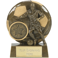 VISTA Football Trophy Awarder - AGGT - 5 7/8 (15cm) - New 2018