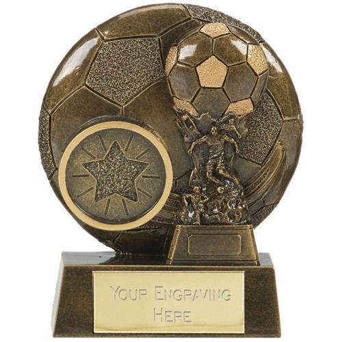 VISTA Football Trophy Award Cup - AGGT - 3.25 (8cm) - New 2018
