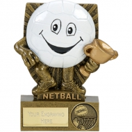 SMILE Netball - AGGT - 4.25 inch (10.5cm) - New 2018