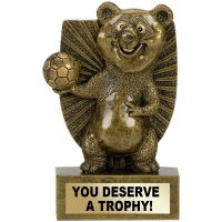 PANDA Football Trophy Award - AGGT - 4 3/8 (11cm)- New 2018