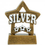 MINI STAR Silver - AGST - 3 1/8 inch (8cm) - New 2018