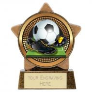 Mini Star Centre Holder Football 3.25 Inch (8cm) : New 2019