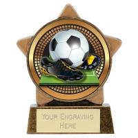 Mini Star Centre Holder Football 3.25 Inch (8cm) : New 2019