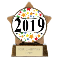 Mini Star Centre Holder - 2019 3.25 Inch (8cm) : New 2019
