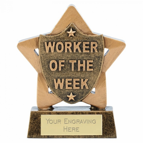Mini Star Worker of the Week 3.25 Inch (8cm) : New 2019