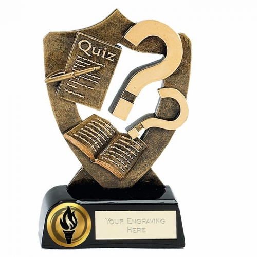 Celebration Shield5 Quiz AGGT 5.25 Inch