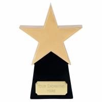 Golden8 Star Gold/Black 8.25 Inch