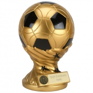 GOLDEN Presentation Ball Trophy - Gold/Black - 9 (23cm) - New 2018