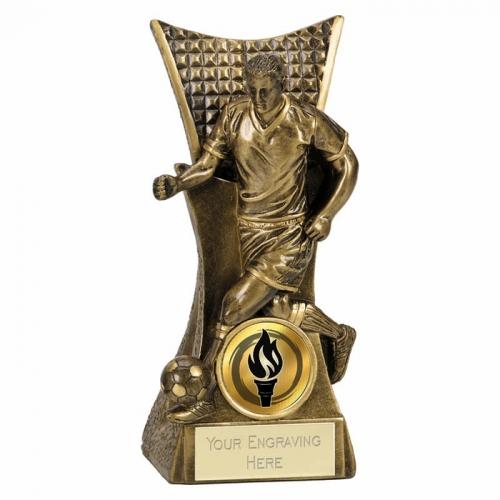 CONQUEROR Football Trophy Award - AGGT - 5.5 (14cm) - New 2018