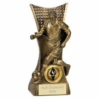 CONQUEROR Football Trophy Award - AGGT - 6.25 (16cm) - New 2018