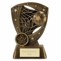 WHIRLWIND Football Trophy Award - AGGT - 5.25 inch (13.5cm)- New 2018