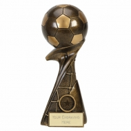 CURL Football Trophy Award - AGGT - 10 (25.5cm)- New 2018