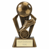 SURGE Football Trophy Award - AGGT - 6 (15cm)- New 2018