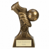 PRIME Boot & Ball Football Trophy - AGGT - 6.25 (16cm) - New 2018