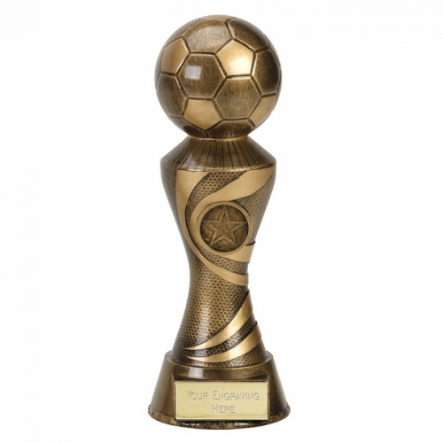 ACE Football Trophy Award - AGGT - 8 7/8 inch (22.5cm) - New 2018
