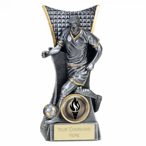 CONQUEROR Football Trophy Award - ASGT - 5.5 (14cm) - New 2018