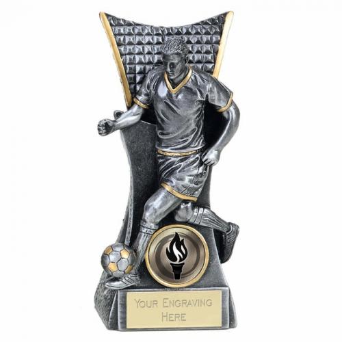 CONQUEROR Football Trophy Award - ASGT - 6.25 (16cm) - New 2018