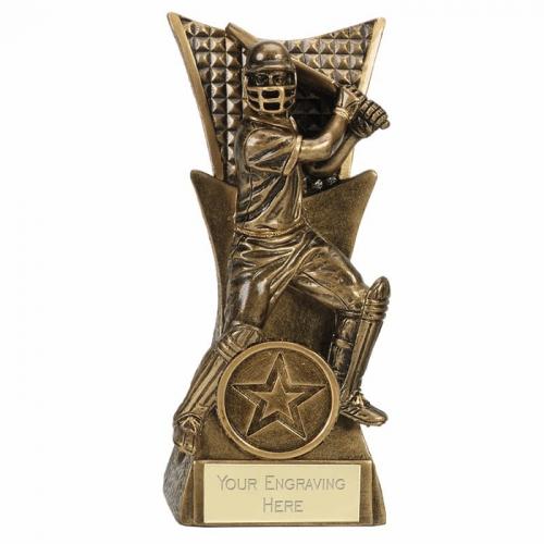 CONQUEROR Cricket Trophy Award Batsman - AGGT - 5.5 Inch (14cm) - New 2018