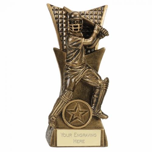 CONQUEROR Cricket Trophy Award Batsman - AGGT - 6.25 Inch (16cm) - New 2018