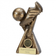 Link 6 Inch Football Trophy (15cm) : New 2019