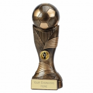 Motion Football Trophy 9 7/8 Inch (25cm) : New 2019