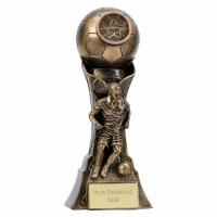 Genesis Female Footballer Trophy 7 Inch (17.5cm) : New 2019