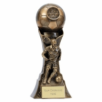 Genesis Female Footballer Trophy 8 Inch (20cm) : New 2019