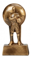 Soul Football Trophy Award Male 6.25 Inch (16cm) : New 2020