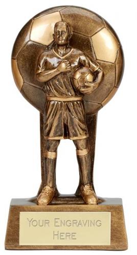 Soul Football Trophy Award Male 8.25 Inch (21cm) : New 2020