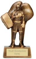 Soul Boxing Trophy Award 8.25 Inch (21cm) : New 2020