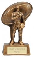 Soul Rugby Trophy Award 6.25 Inch (16cm) : New 2020