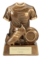 Legend Football Trophy Award 6 Inch (15cm) : New 2020
